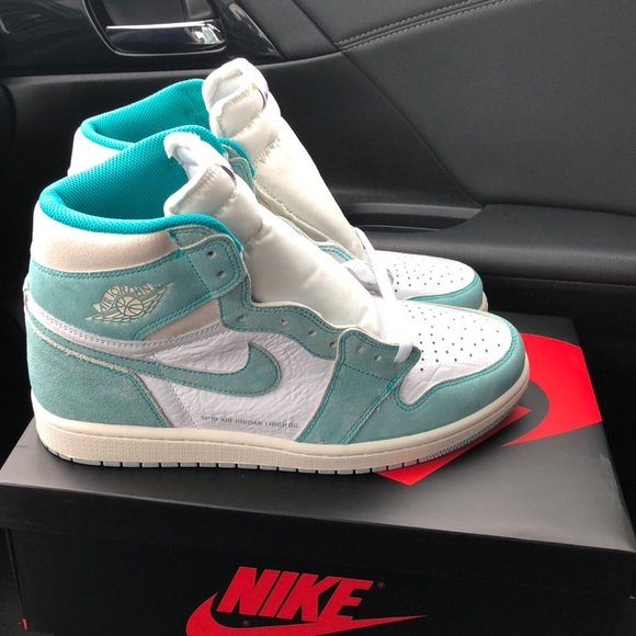 Jordan Shoes Nwt With Boxreceipt 1 Sze105 Turbo Green Poshmark